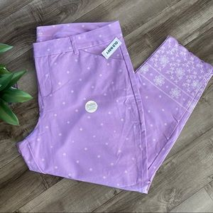 NWT! Old Navy Pixie Mid-Rise crop pants size 20
